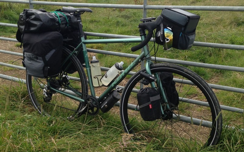 Fully Loaded Bicycle Touring