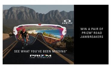 Gewinnspiel: Gewinnt 1 von 10 Oakley PRIZM Road Jawbreaker
