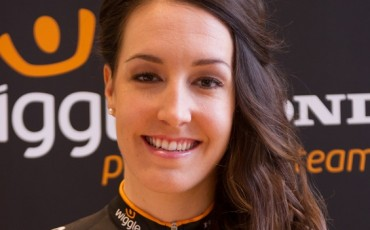 image of Dani King at Team Wiggle Honda launch