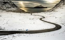 Winter auf den Faeroer Inseln
